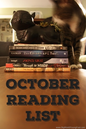 October Reading List: Ghost Stories  